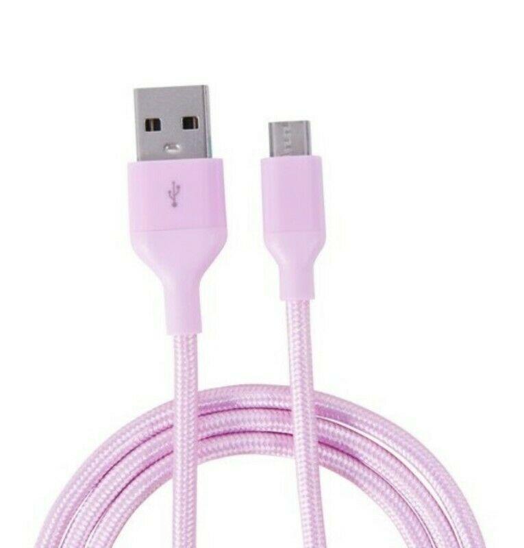 Cable Micro Usb Reforzado Carga Transferencia Datos Blackweb