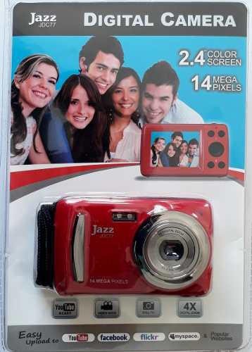 Camara Digital Vídeo Pantalla mp Zoom 4x Jazz Jdc77