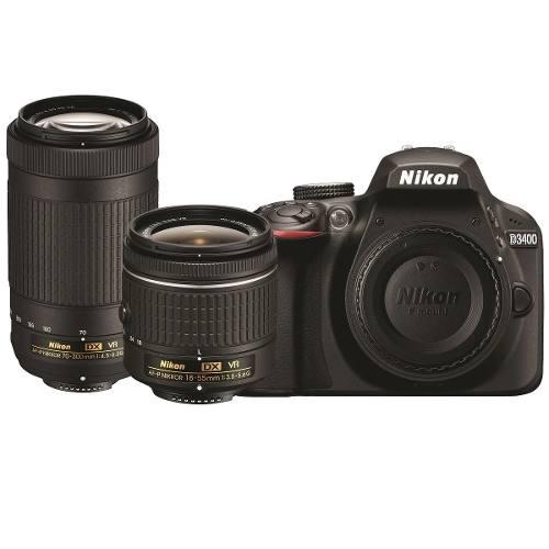 Camara Profesional Nikon D Dos Lentes Y Control Remoto
