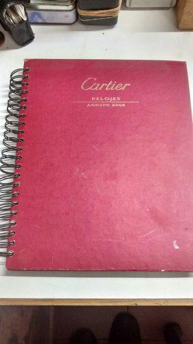 Catalogo Relojes Cartier Año 2006