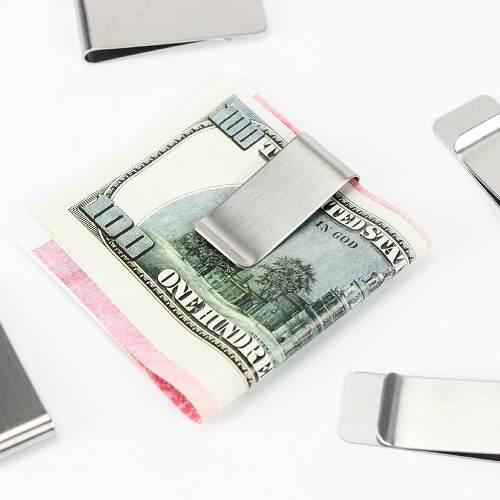 Clip Para Billetes De Acero Inoxidable, Accesorio De Moda