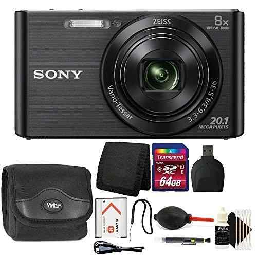 Cámara Digital Sony Dsc-w830 De 20.1mp Para Apuntar Y