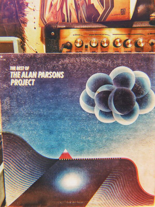 Disco LP vinil acetato 33 rpm the best of the Alan Parsons