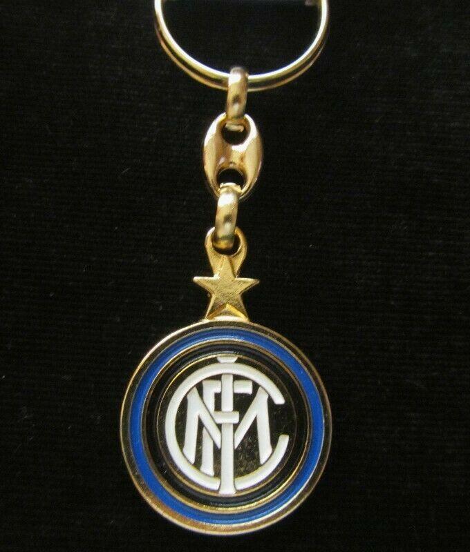 INTER DE MILAN LLAVERO LOGO SERIE A ITALIA UEFA CHAMPIONS