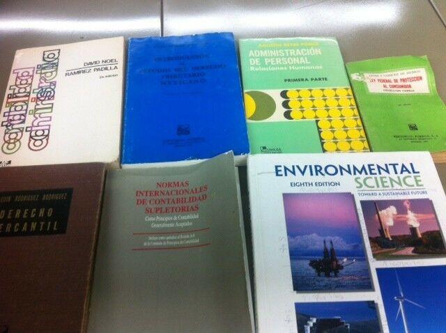 Libros de administracion y varios mas ($800 todos)
