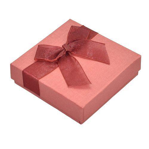 Pulsera Caja Reloj Joyas Regalo Caja Caso Rojo