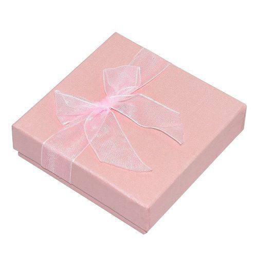 Pulsera Caja Reloj Joyas Regalo Caja Caso Rosa