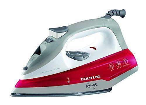 Taurus Pvr-rouge Plancha De Vapor Con Suela Cerámica, Color