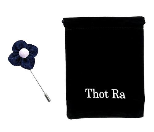 Thot Ra Fistol Flor Azul Accesorio Para Traje Fistoles C507