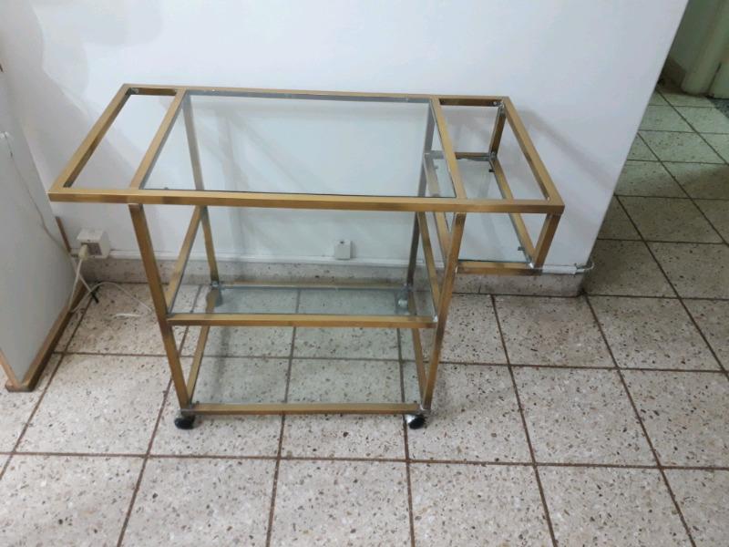 Vendó mesa bar de bronce oportunidad