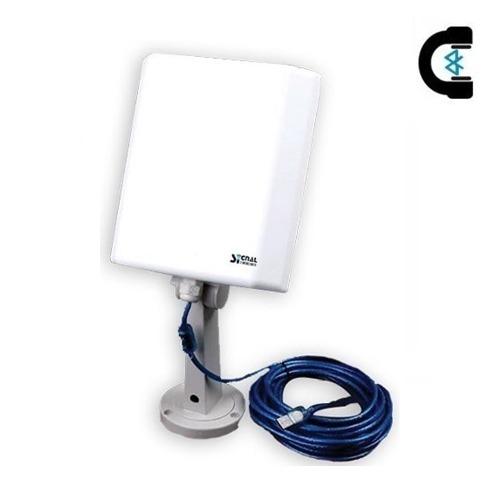 Antena Wifi Adaptador Red Signal King Exterior 3km Usb 10m