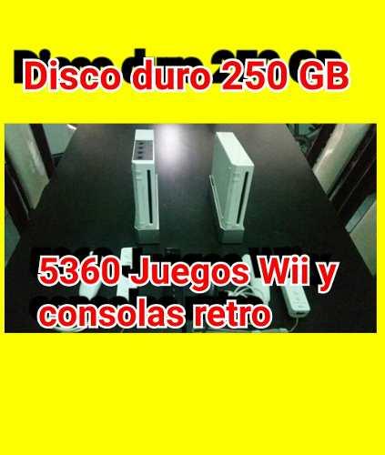 Nintendo Wii 250gb  Juegos Wii, Game Cube, Retro.
