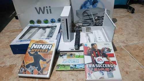 Nintendo Wii Con Paquete Sport