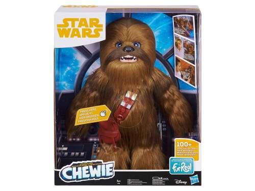 Star Wars Furreal Chewie Interactivo + 100 Sonidos Hasbro