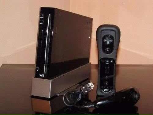 Wii Black Usado Más 2 Juegos