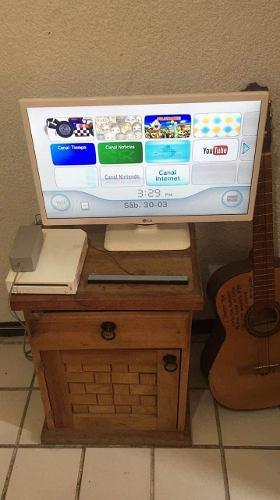 Wii En Buenas Condiciones Con 2 Juegos Incluidos