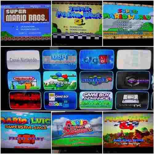 Wii Multiplataforma + 28 Plataformas + 20 Juegos De Wii
