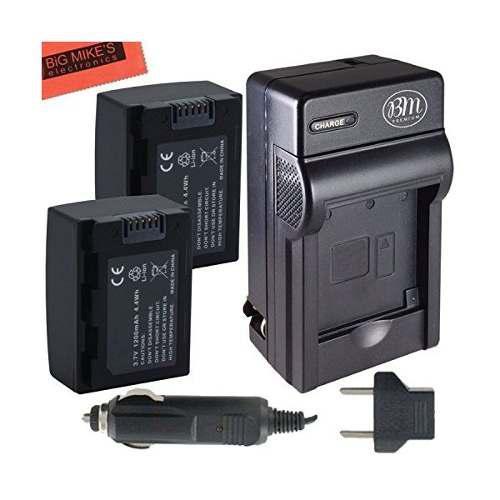 2-pack De Repuesto Ia-bp105r Baterías Y El Cargador De