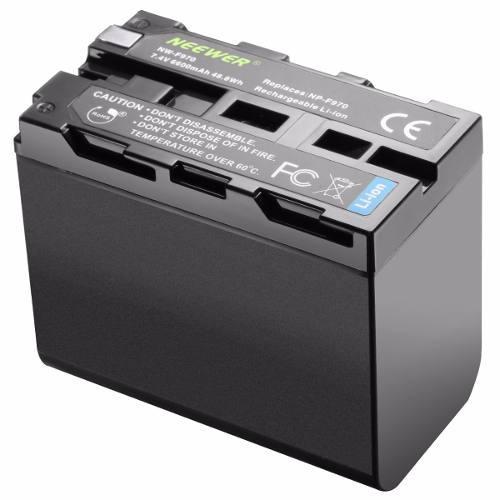 6 Baterias F970 Y 6 Cargadores