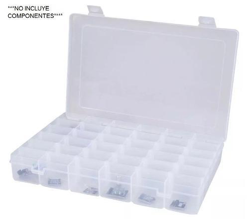 Caja Organizadora Plástico 36 Compartimentos Arduino
