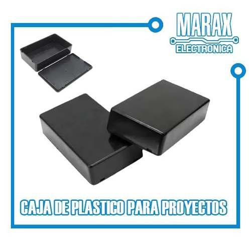 Caja Para Proyectos Gabinete Plástico 10 X 6.2 X 2.5 Cm