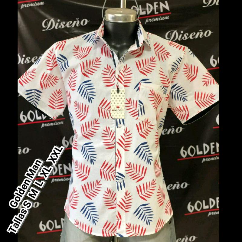 Camisa de Moda para Caballero Alta Calidad Menudeo $220, XXL