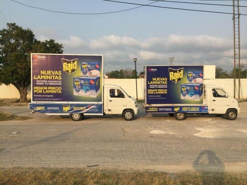 Campañas de Vallas Móviles en Campeche