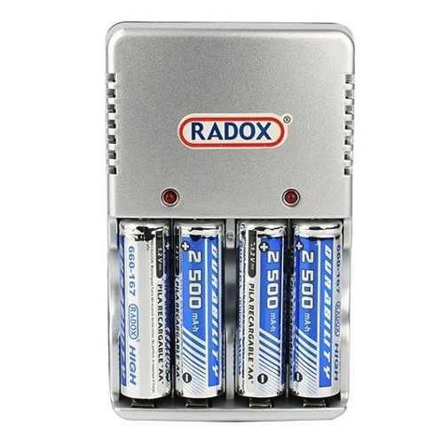 Cargador Baterías Aa Aaa Y 9v+4 Baterias Aa De 2500 Mah