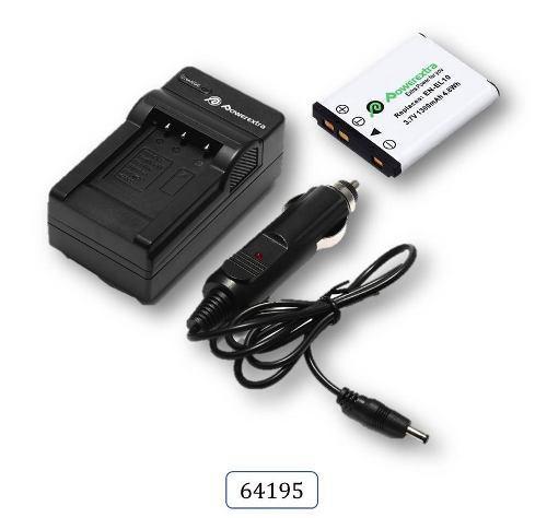 Cargador + Bateria Pid 64195 Para Nikon Coolpix Mh-63