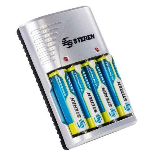 Cargador Baterias Recargables Universal Paquete De 2 Pz