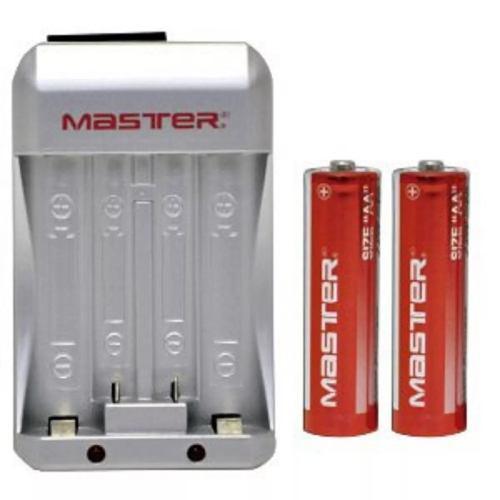 Cargador De Baterías Aa, Aaa, De 6w Con 2 Baterias Aa
