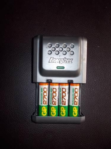 Cargador De Baterias Pilas Recargables Energizer