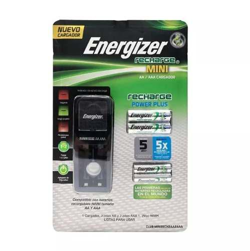 Cargador De Pilas Energizer Bateria Recargable Aa Y Aaa
