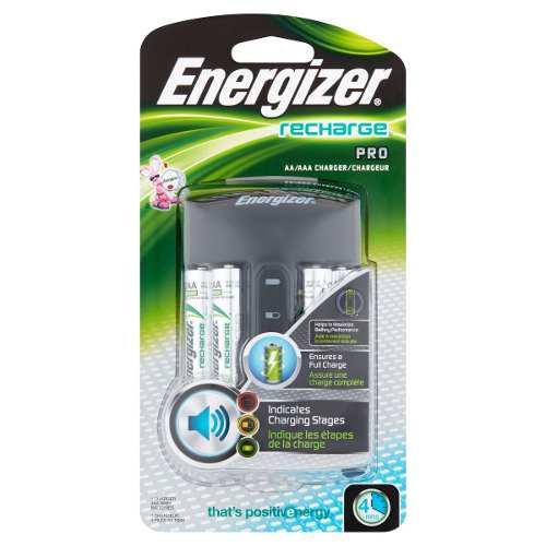 Cargador Energizer 4 Baterias Aa/aaa Pro Xtreme C