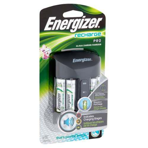 Cargador Energizer Pro Aa/aaa 4 Baterias Xtreme P
