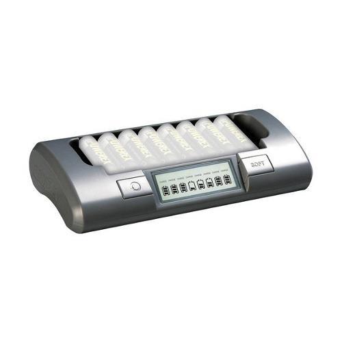 Cargador Mh-c800s Portátil Para 8 Baterías Aa / Aaa