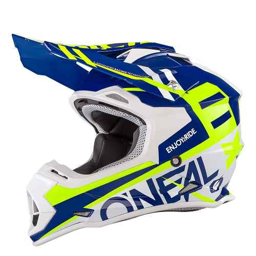 Casco Oneal Motocross Enduro Atv 2 Series Spyde Blanco