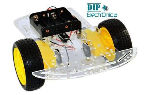 Chasis Chassis Carro Robot 2wd Smart Car, Arduino