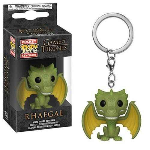Funko Pocket Pop: Game Of Thrones - Rhaegal Llavero