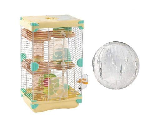 Jaula Para Hamster Sunny 27.7 X 20.5 X42.5cm + Esfera 18cm