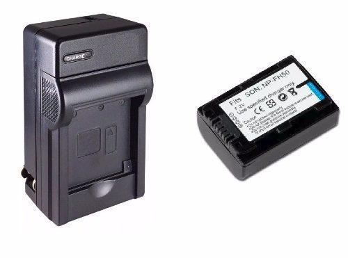 Kit 1 Cargador + 1 Batería Np-fh50 Para Camara Sony