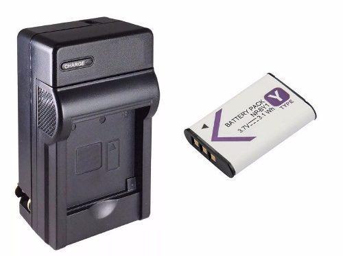 Kit 1 Cargador + 1 Bateria Np-by1 Para Cámara Sony