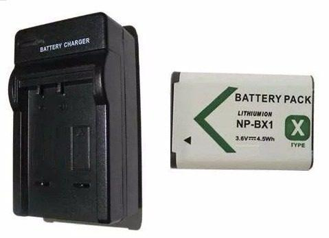 Kit 1 Cargador + 1 Baterias Para Sony Np-bx1