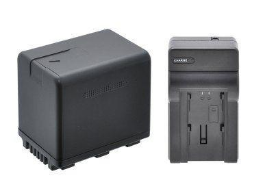Kit Bateria Y Cargador Para Camara Panasonic Vw-vbk360