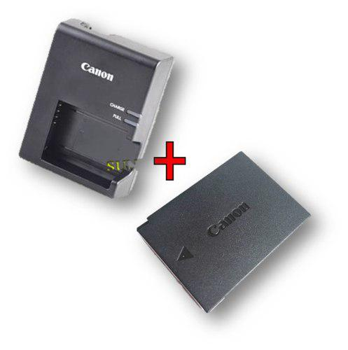Kit Cargador Lc-e10 + Bateria Lp-e10 Original Para T5