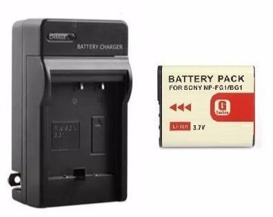 Kit Cargador Y Batería Para Camara Sony Np-bg1