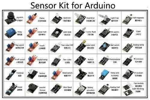 Kit De 37 Sensores Para Arduino