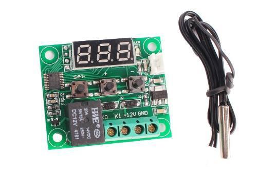 Módulo Control De Temperatura W1209 Con Relevador Y Display