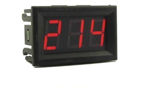 Medidor De Voltaje Voltimetro De Corriente Alterna 70-500v