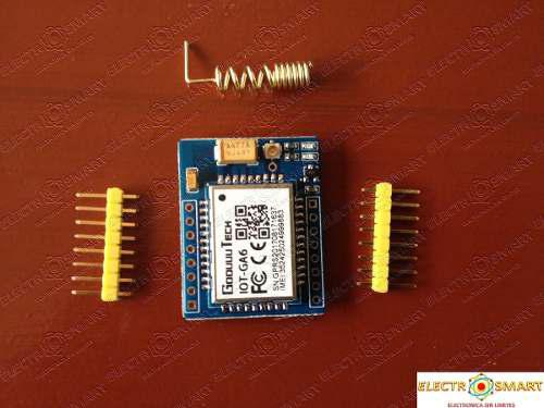 Modulo 5v Iot G A6 Gsm Gprs Compatible Sim 4g Similar Sim800